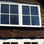 Custom-made wooden window