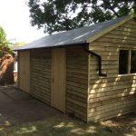 Custom-made shed